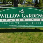 Willow Gardens Sign