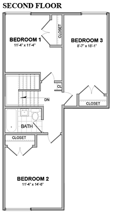 Beacon 3BD 2nd Fl